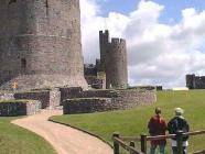 Exploring Pembroke Castle Keep