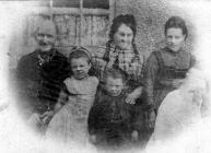 Anne Rhys Aunt Cath Briton Ferry circa 1877