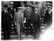 William Anthony Hewlett with a delegation 1930s