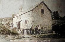 Castle Cottage Llangybi Murder Scene on 18 July...