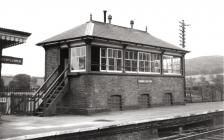 The East Signal Box at Corwen Railway Station...