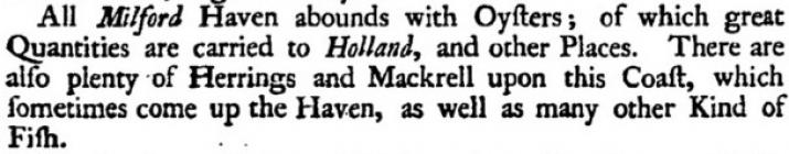 Fishing in Milford Haven. Extract from Morris,...