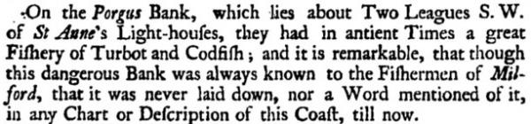Ancient Fisheries of Milford Haven. Extract...