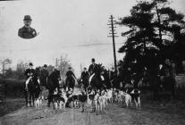 Llangybi Hunt, early 1900