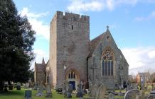St Mary's Church, Builth Wells, Breconshire