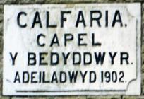 Calfaria Chapel, Pant-y-celyn Road, Heolgerrig,...