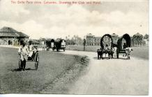 Postcard of The Galle France drive, Colombo,...