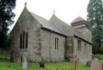 St David's Church, Llanddewi Rhydderch,...