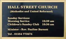 Hall Street Church, Hall Street, Llanelli,...