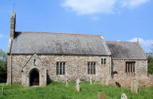 St Mary's Church, Llanfair Kilgeddin,...
