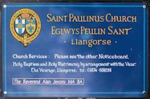 St Paulinus, Llangors, Breconshire