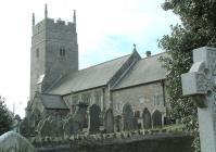 St Cynwyd's Church, Llangynwyd, Glamorgan