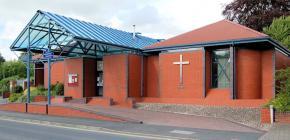 Severn Place English Methodist Church, Back...