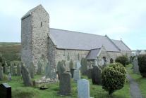 Church of St Mary the Virgin, Rhosili, Gower,...