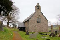 St David's Church, Trallwng (Trallong),...