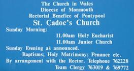 St Cadoc's Church, Trevethin, Monmouthshire