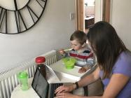 Working from home during the lockdown - For the...