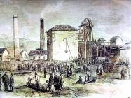 Explosion at Morfa Colliery 1863