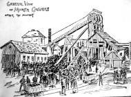 Glofa'r Morfa wedi'r ffrwydrad yn 1890