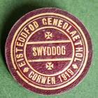 Bathodyn Swyddog yr Eisteddfod Genedlaethol a...