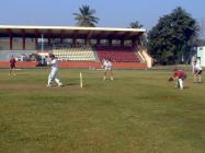 Michael Evans Playing Cricket, India