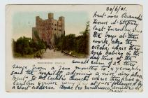 Postcard of Rochester Castle, 1901