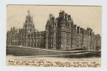 Postcard of Royal Holloway College, Egham, 1903