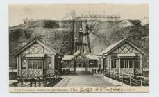 Postcard of Cliff Tramway, Saltburn-by-the-Sea,...