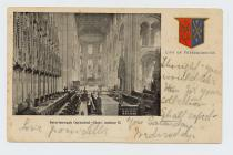Postcard of Peterborough Cathedral - Choir,...
