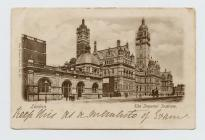 Postcard of The Imperial Institute London, 1904