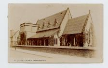Postcard of St Peter's Church,...