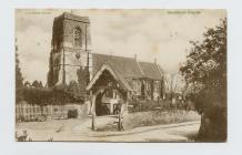 Postcard of Speldhurst Church, 1904