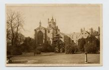 Postcard of Winchester College from the Warden&...