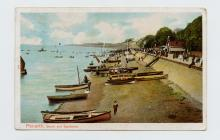 Postcard of Penarth, Beach and Esplanade, 1904