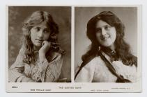 Postcard of The Sisters Dare, 1905