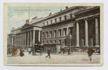 Postcard of The General Post Office, London, 1905