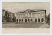 Postcard of Oxford, Worcester College, 1905