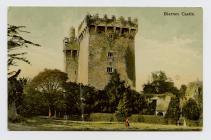 Postcard of Blarney Castle, 1907