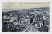 Postcard of Dieppe, 1908