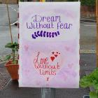 Dream Without Fear, Love Without Limits, COVID...