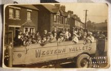 Western Valleys Charabanc in Newport