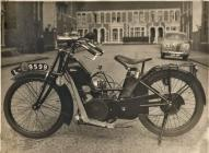 1921 Velocette motor cycle
