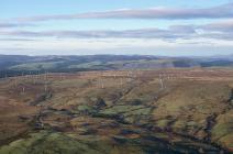 Carno Wind Farm, Trannon, Llanbryn-mair