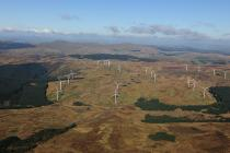 Cefn Croes Windfarm, 2012