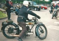 Old BSA Motor Cycle