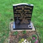 Douglas Maylin's grave, Cathays Cemetery,...