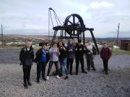 Unloved Heritage project visit to Big Pit