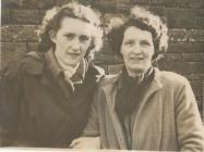 Cardiff Eagles Training School ladies 1950's