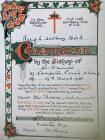 Tony Bird - Certificate of confirmation in...