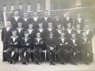 Tony Bird in group photo of 54th Pilots' Course...
